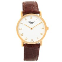 Chopard Yellow gold Manual winding White Roman numerals 34mm pre-owned Classic