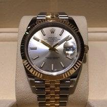 Rolex Datejust 41mm Steel and Gold Jubilee Bracelet B&P