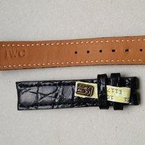 IWC 18/16mm Black Croco Strap