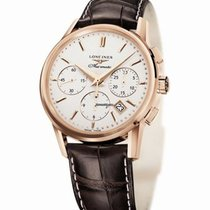 Longines Rose gold Automatic 39mm new Column-Wheel Chronograph