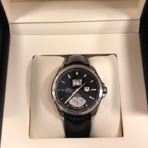 TAG Heuer Grand Carrera Staal 42.5mm Bruin