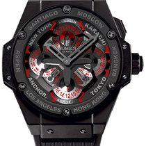 Hublot King Power Ceramic 48mm Black No numerals United States of America, New York, NYC