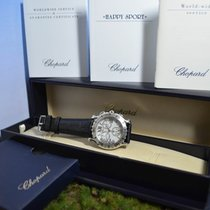 Chopard 42mm Happy Sport Diamanten Chronograph, Service, Ref....