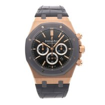 Audemars Piguet Royal Oak Chronograph Rose gold 41mm Grey No numerals United States of America, Pennsylvania, Bala Cynwyd