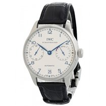 IWC Portuguese Automatic pre-owned 42mm Steel