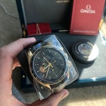 Omega Speedmaster Professional Moonwatch Yellow gold 42mm Blue United States of America, Florida, Miami