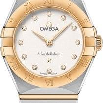 Omega Gold/Steel 25mm Quartz 131.20.25.60.52.002 new United States of America, New York, Airmont