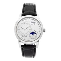 A. Lange & Söhne Lange 1 Platinum 38.5mm Silver Roman numerals United States of America, Pennsylvania, Bala Cynwyd