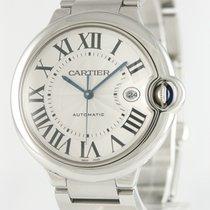 Cartier Ballon Bleu 42mm Сталь 43mm Cеребро Римские