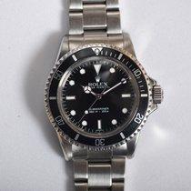 Rolex 5513 Aço 1965 Submariner (No Date) 40mm usado
