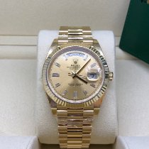 Rolex Day-Date 40 Gult gull 40mm