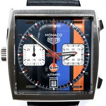 TAG Heuer Monaco Calibre 11 Steel 39mm No numerals