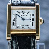 Cartier Tank (submodel) Or jaune 22mm Blanc Romain