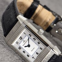 Jaeger-LeCoultre Reverso Lady Steel 20mm Silver Arabic numerals