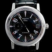 Zenith Port Royal Staal 37mm Zwart Arabisch