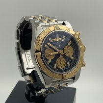 Breitling Chronomat 41 Goud/Staal 41mm Zwart Geen cijfers