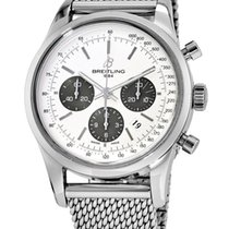 Breitling Transocean Chronograph new Automatic Watch with original box AB015212/G724-154A