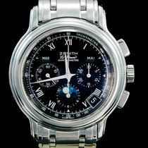 Zenith Steel 40mm Automatic 01.0240.410 pre-owned