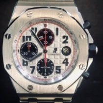 Audemars Piguet Royal Oak Offshore Chronograph Stal 42mm Srebrny Arabskie