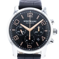 Montblanc Timewalker Acero 43mm Negro