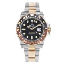 Rolex Steel 44mm Automatic GMT-Master II