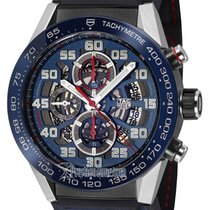 TAG Heuer Carrera Calibre HEUER 01 Steel 45mm Blue United States of America, Florida, Hollywood