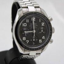 Omega Speedmaster Ladies Chronograph Acero 38mm Negro Árabes