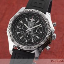 Breitling Bentley B05 Unitime Сталь 49.5mm Чёрный
