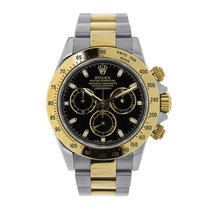 Rolex DAYTONA Steel & 18K Yellow Gold Black Dial