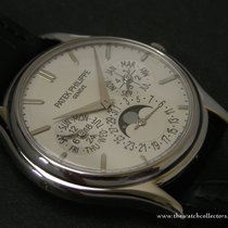 "Patek Philippe : Perpetual Calendar White Gold ""Ref.5140G&..."