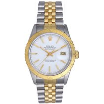 Rolex Turnograph 2-Tone Thunderbird Bezel Watch 16253
