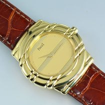 Piaget Tanagra 18k Yellow Gold With Alligator Strap
