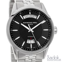 Raymond Weil Freelancer Day Date Stainless Steel 42mm Automati...