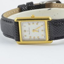 Maurice Lacroix Damen Uhr Carree Stahl Vergoldet 25mm 32304...