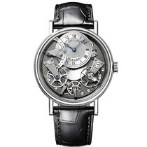 Breguet 7097BB/G1/9WU Tradition 40mm Automatic in White Gold -...