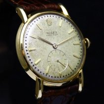 Rolex Precision Wafl Dial 18K Solid Yellow Gold 4478