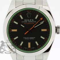 Rolex Milgauss 116400GV Box & Papers from 2012