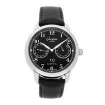 Glashütte Original Senator Observer Steel 44mm Black Arabic numerals