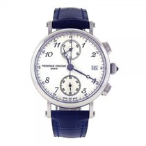 Frederique Constant Classics Chronograph Stainless Steel...