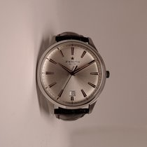 Zenith Captain Central Second Acero 40mm Plata Sin cifras España, Bilbao