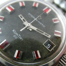 Eterna Matic Kontiki 20 Deluxe Exotic Ruby Dial Automatic...