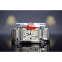 Cartier Сталь 28mm Кварцевые W51001Q3 подержанные