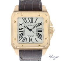 Cartier Santos 100 tweedehands 41mm Roségoud