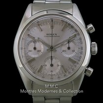 Rolex Chronograph Acero 36mm Plata