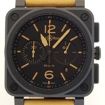 Bell & Ross BR 03-94 Chronographe new Automatic Chronograph Watch with original box and original papers BR0394-HERI-CE