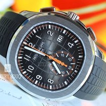 Patek Philippe Aquanaut Steel 42.2mm Black Arabic numerals