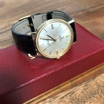 Omega Seamaster DeVille Yellow gold 35mm White No numerals