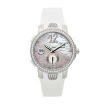 Ulysse Nardin Executive Dual Time Lady Steel 40mm White Arabic numerals