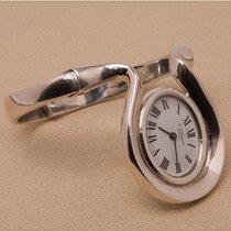 Chopard Prata Corda manual Branco Romanos 41.5mm usado