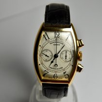 Franck Muller Rose gold Automatic Silver 32mm pre-owned Casablanca